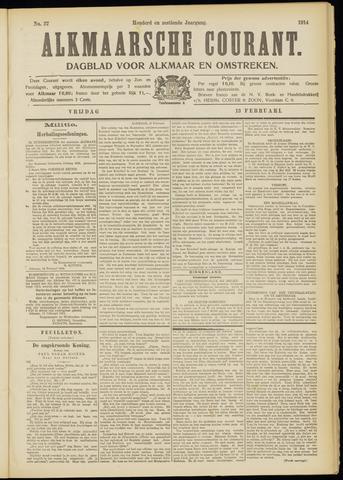 Alkmaarsche Courant 1914-02-13