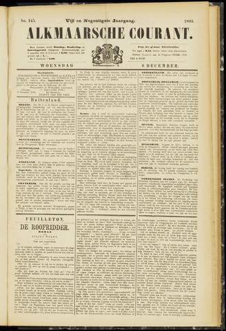 Alkmaarsche Courant 1893-12-06