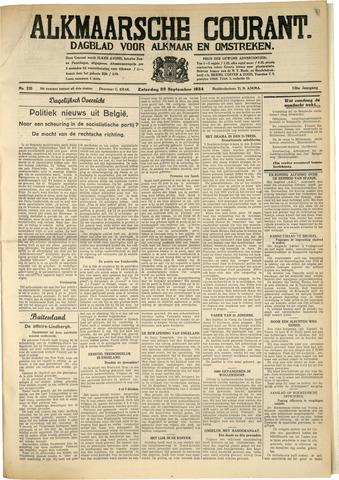 Alkmaarsche Courant 1934-09-29