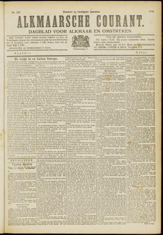 Alkmaarsche Courant 1918-07-08