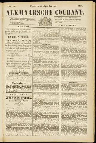 Alkmaarsche Courant 1887-09-02