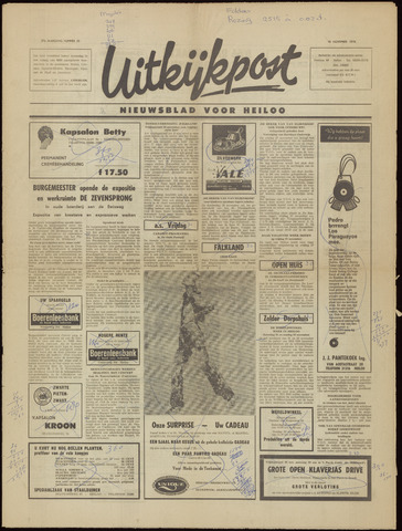 Uitkijkpost : nieuwsblad voor Heiloo e.o. 1970-11-12