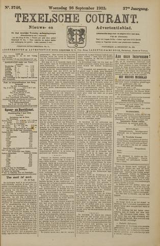 Texelsche Courant 1923-09-26