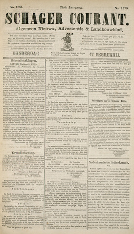 Schager Courant 1881-02-17
