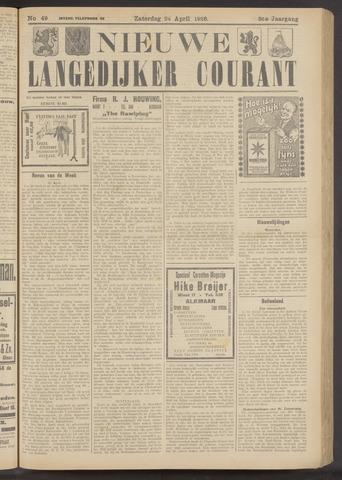 Nieuwe Langedijker Courant 1926-04-24