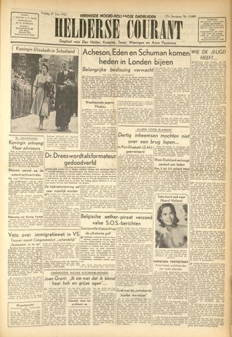 Heldersche Courant 1952-06-27
