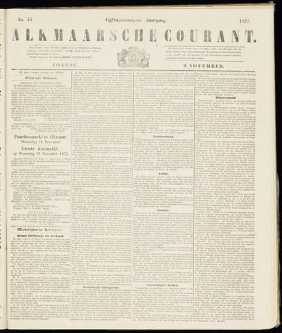 Alkmaarsche Courant 1873-11-09