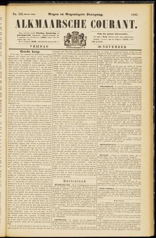 Alkmaarsche Courant 1897-11-26