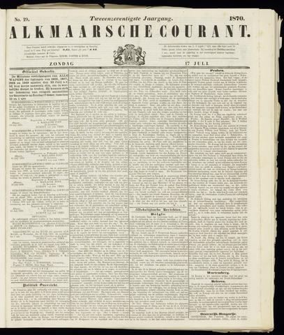 Alkmaarsche Courant 1870-07-17