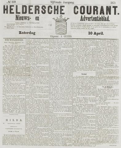 Heldersche Courant 1875-04-10