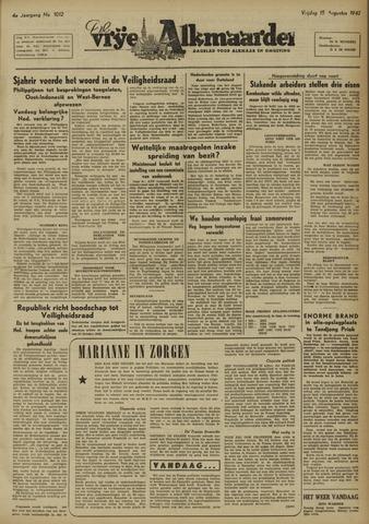 De Vrije Alkmaarder 1947-08-15