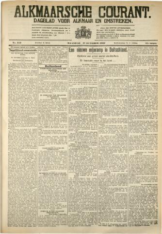 Alkmaarsche Courant 1930-10-27