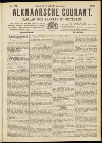 Alkmaarsche Courant 1906-07-23