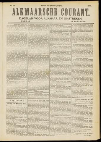 Alkmaarsche Courant 1913-11-28