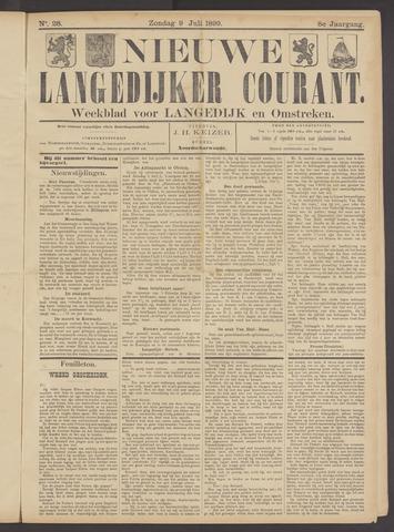 Nieuwe Langedijker Courant 1899-07-09
