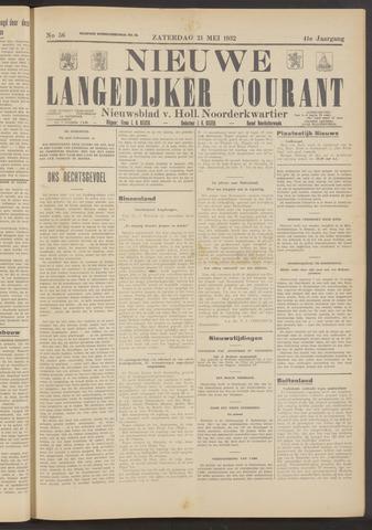 Nieuwe Langedijker Courant 1932-05-21