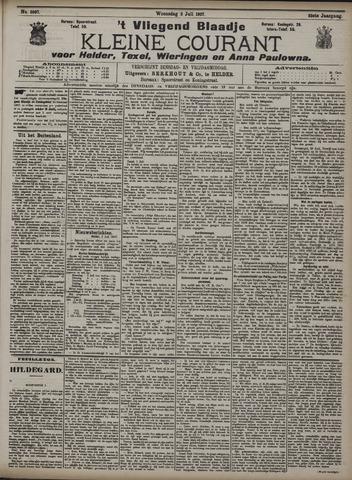 Vliegend blaadje : nieuws- en advertentiebode voor Den Helder 1907-07-03