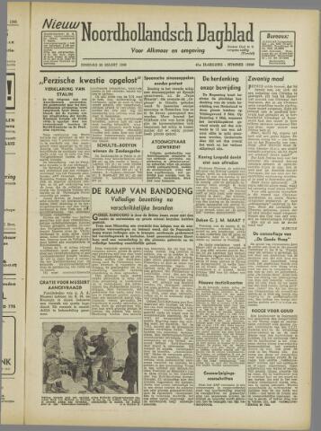 Nieuw Noordhollandsch Dagblad : voor Alkmaar en omgeving 1946-03-26