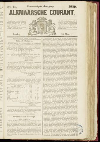Alkmaarsche Courant 1859-03-13