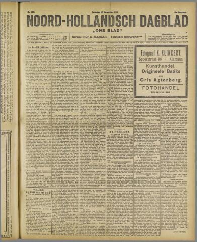 Ons Blad : katholiek nieuwsblad voor N-H 1922-11-18