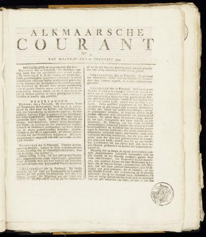 Alkmaarsche Courant 1814-02-21