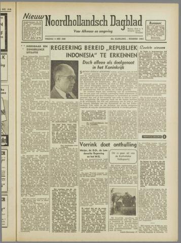 Nieuw Noordhollandsch Dagblad : voor Alkmaar en omgeving 1946-05-03