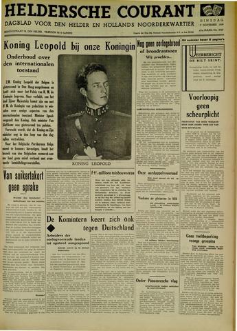 Heldersche Courant 1939-11-07