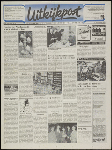 Uitkijkpost : nieuwsblad voor Heiloo e.o. 1993-11-24