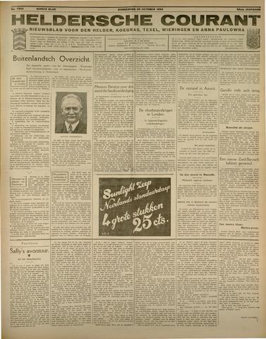 Heldersche Courant 1934-10-25
