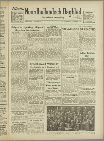 Nieuw Noordhollandsch Dagblad : voor Alkmaar en omgeving 1946-10-03