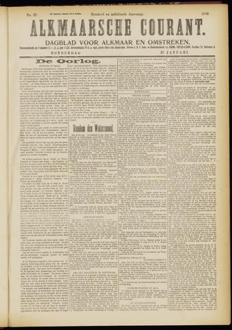 Alkmaarsche Courant 1916-01-27