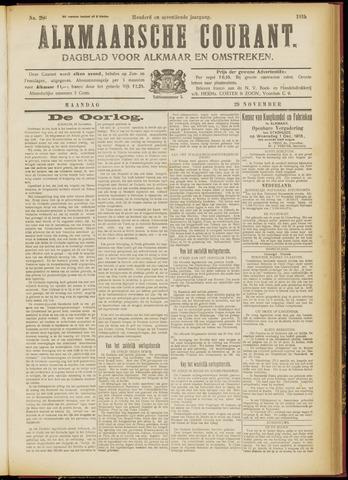 Alkmaarsche Courant 1915-11-29
