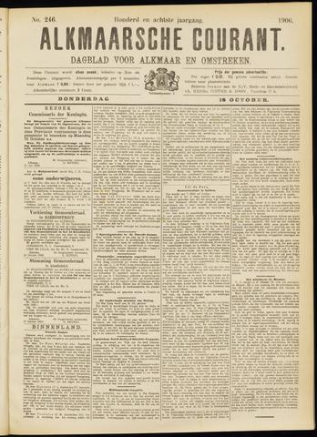 Alkmaarsche Courant 1906-10-18