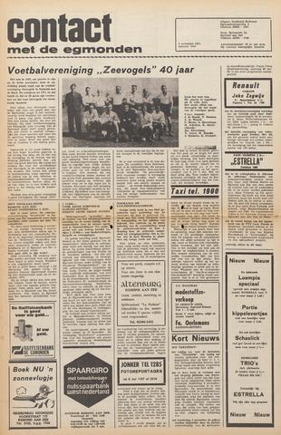 Contact met de Egmonden 1971-11-03