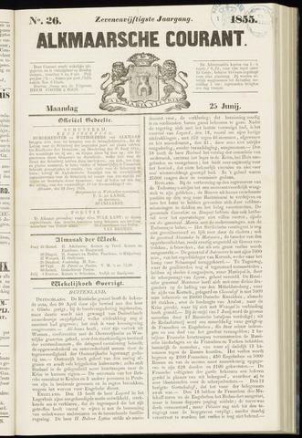 Alkmaarsche Courant 1855-06-25