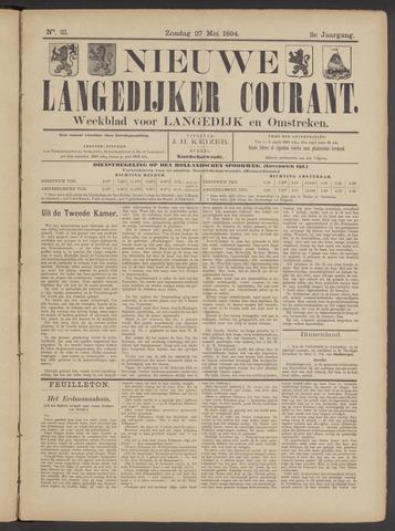 Nieuwe Langedijker Courant 1894-05-27
