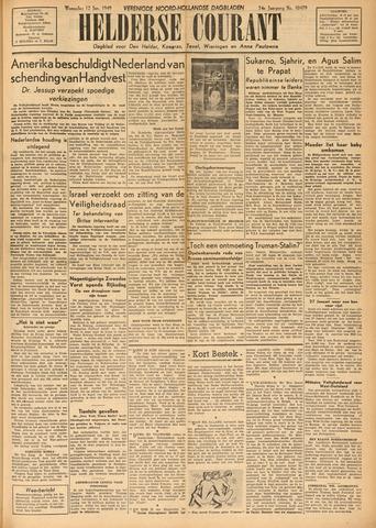 Heldersche Courant 1949-01-12