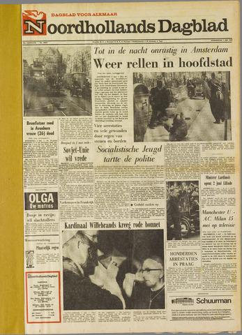 Noordhollands Dagblad : dagblad voor Alkmaar en omgeving 1969-05-01