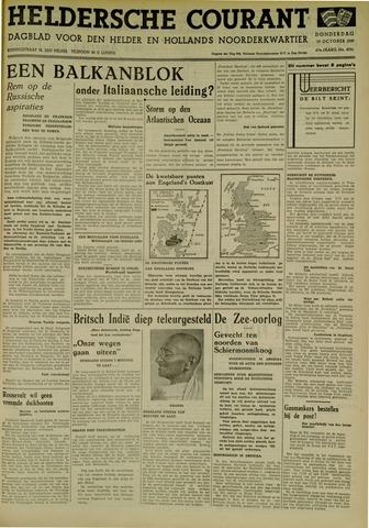 Heldersche Courant 1939-10-19