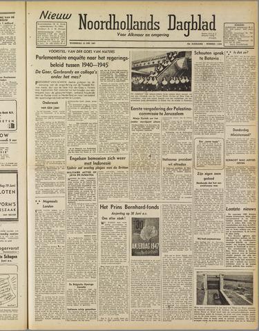 Nieuw Noordhollandsch Dagblad : voor Alkmaar en omgeving 1947-06-18