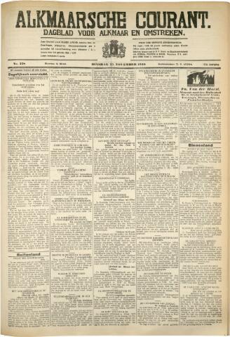 Alkmaarsche Courant 1930-11-25