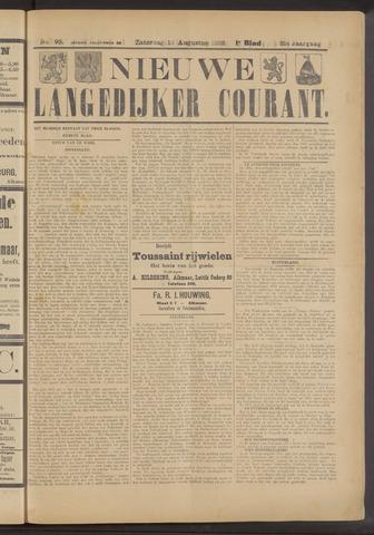 Nieuwe Langedijker Courant 1922-08-12