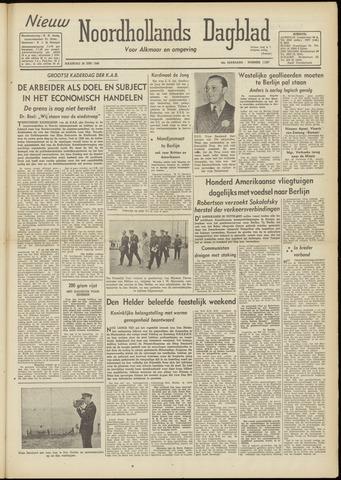 Nieuw Noordhollandsch Dagblad : voor Alkmaar en omgeving 1948-06-28
