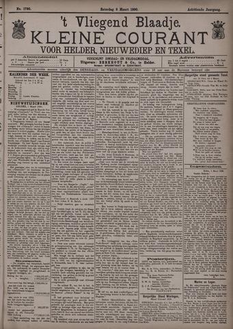 Vliegend blaadje : nieuws- en advertentiebode voor Den Helder 1890-03-08
