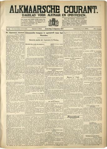 Alkmaarsche Courant 1937-08-07