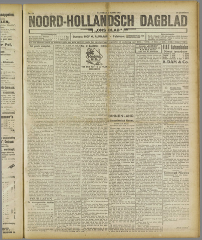 Ons Blad : katholiek nieuwsblad voor N-H 1921-03-12