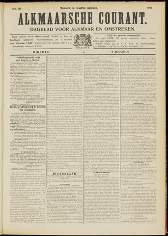 Alkmaarsche Courant 1910-08-09