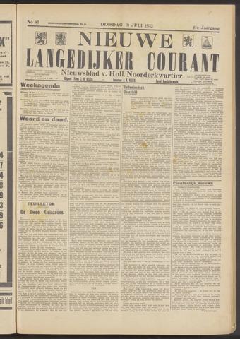 Nieuwe Langedijker Courant 1932-07-19