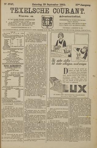 Texelsche Courant 1923-09-29