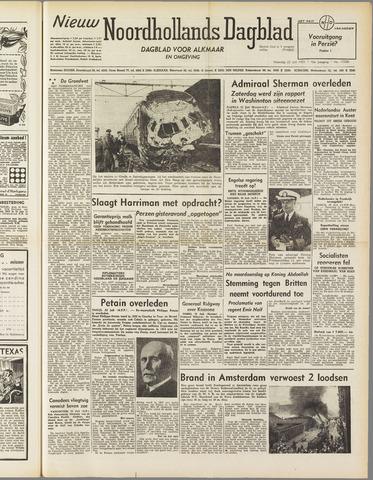 Nieuw Noordhollandsch Dagblad : voor Alkmaar en omgeving 1951-07-23